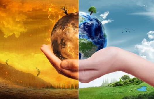 Lotta ai cambiamenti climatici.