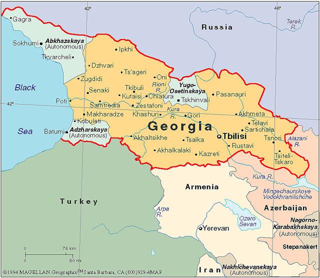Il Conflitto nel Caucaso.