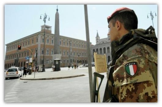 Soldati nelle Città.