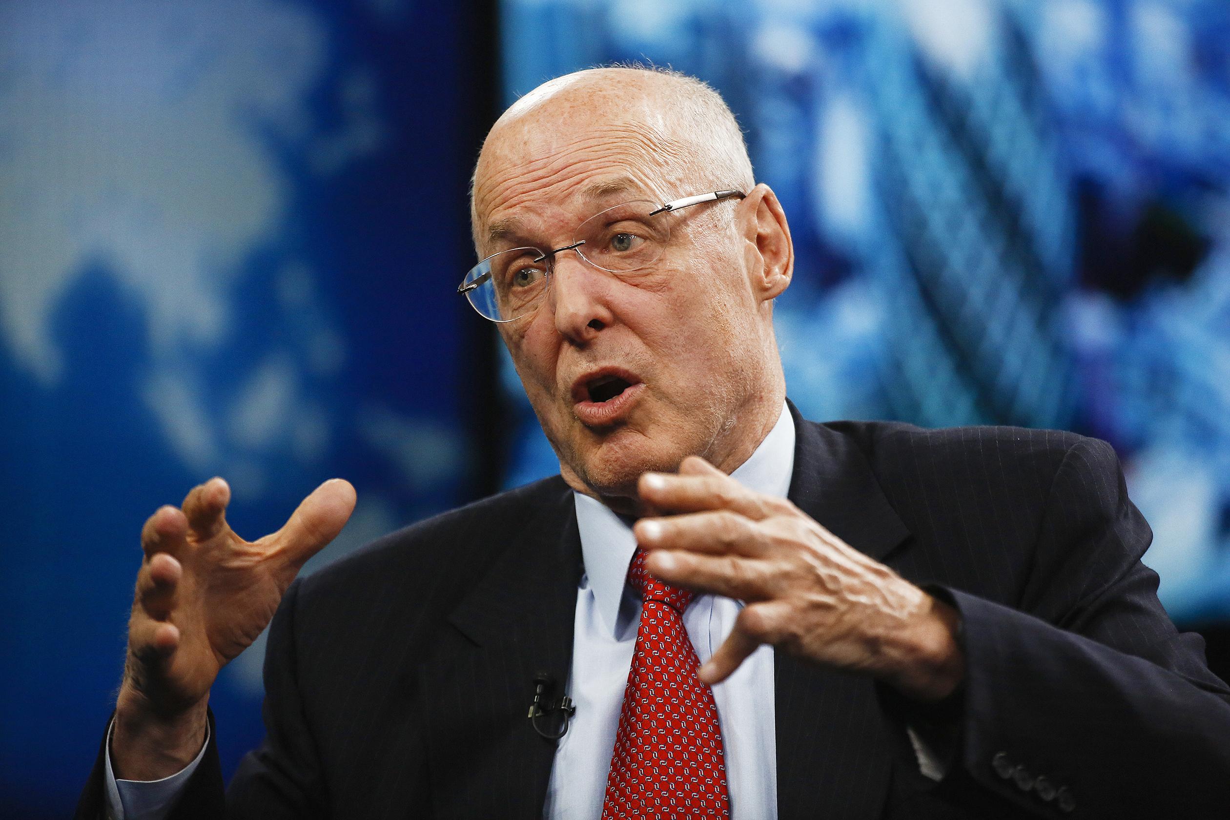 Il piano Paulson e la crisi finanziaria.