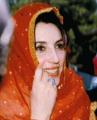 La morte di Benazir Bhutto.