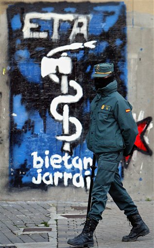 Attentato in Spagna alla vigilia delle elezioni.