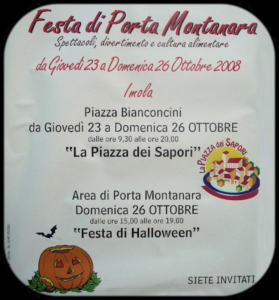 Imola: Festa di Porta Montanara.