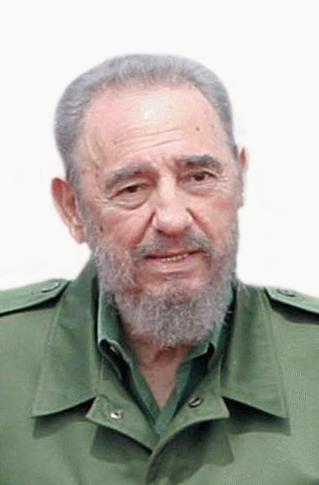 Castro saluta il potere.