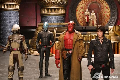 Hellboy II - The Golden Army.