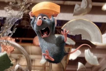 Ratatouille, il topo chef.