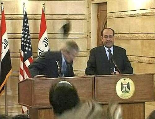 Scarpe per Bush.