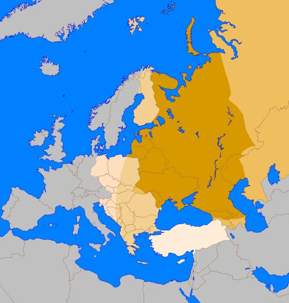La Crisi dei Paesi dell'Est. Conseguenze gravissime per Italia e Ue.