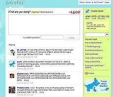 Woofer, il social network chiaccherone del web.
