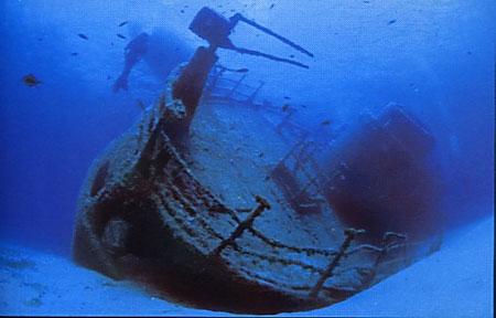 Relitti radioattivi nel Mar Mediterraneo.