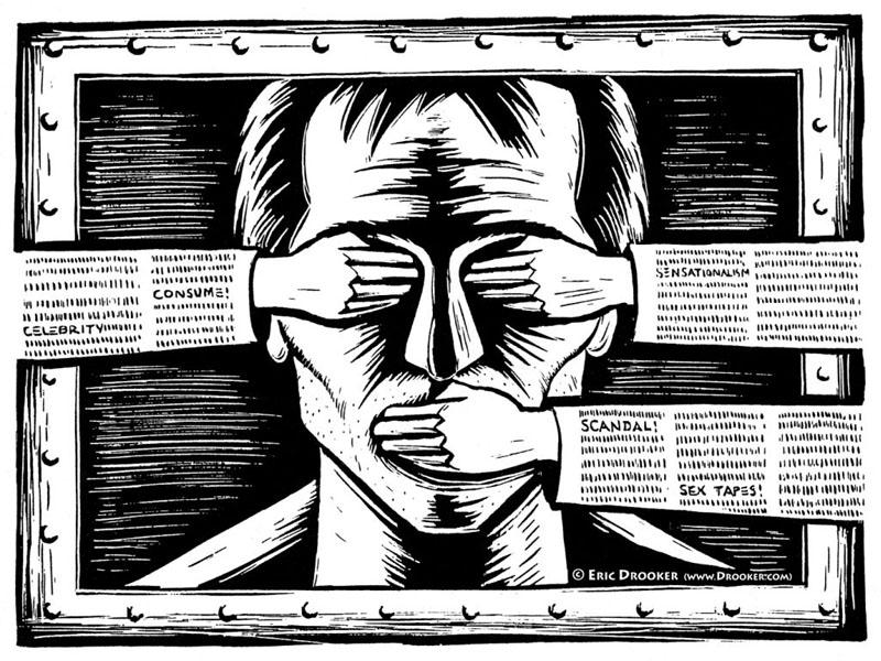 Sostegno alla Libertà di stampa.