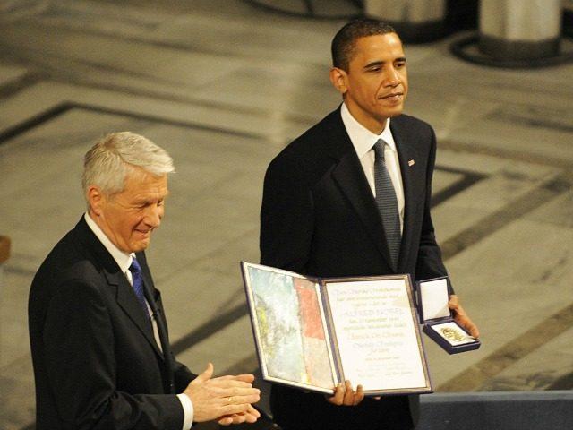 Barack Obama, Nobel per la pace.