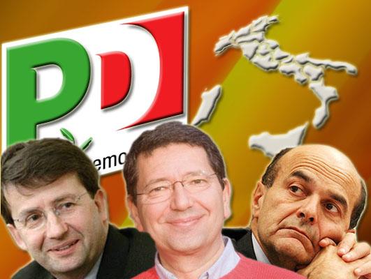 Primarie del PD 2009. Le posizioni dei 3 candidati in sintesi.