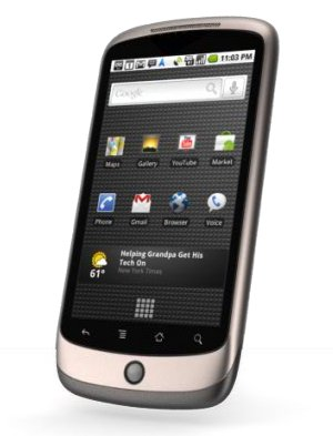 Nexus One, il Googlefonino sbarca negli Usa.