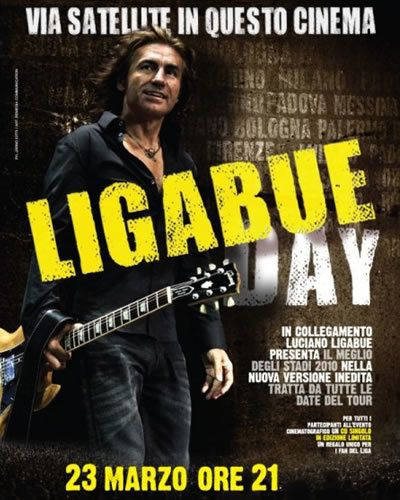 Ligabue Day, ecco i cinema aderenti all'iniziativa in Emilia Romagna.
