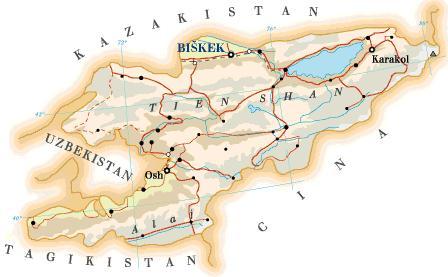Kirghizistan, scoppia il conflitto etnico.