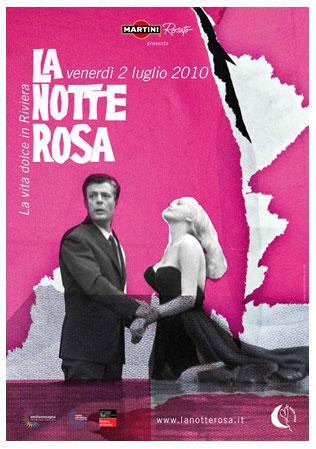 Programma della Notte Rosa 2010.
