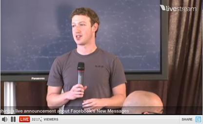Messages, da Facebook la mail che ucciderà l'email?