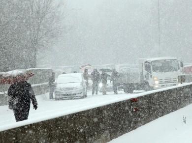 Autostrada A1, trappola di neve e ghiaccio in un'Italia repubblica delle banane.