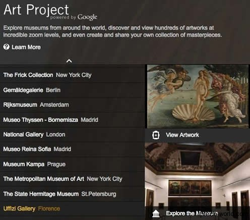 Google Art Project, il museo a portata di click.