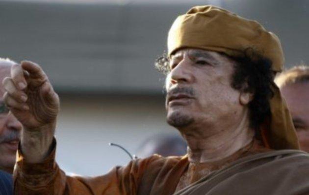 Guerra in Libia, caccia a Gheddafi.