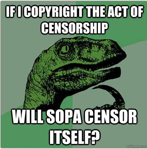 SOPA - Atto Secondo (quanto i duri iniziano a giocare)
