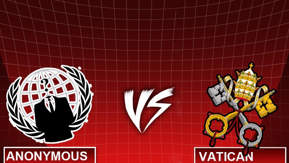 Vaticano 1 - Anonymous 0, anche gli hacker mangiano fagioli