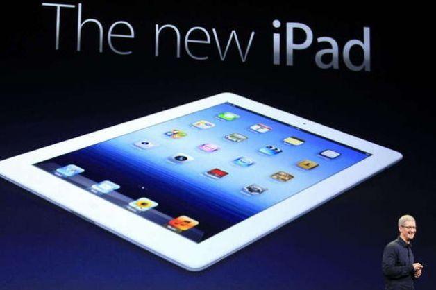 Apple presenta il nuovo iPad.