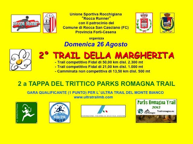 Secondo Trail della Margherita 2012.