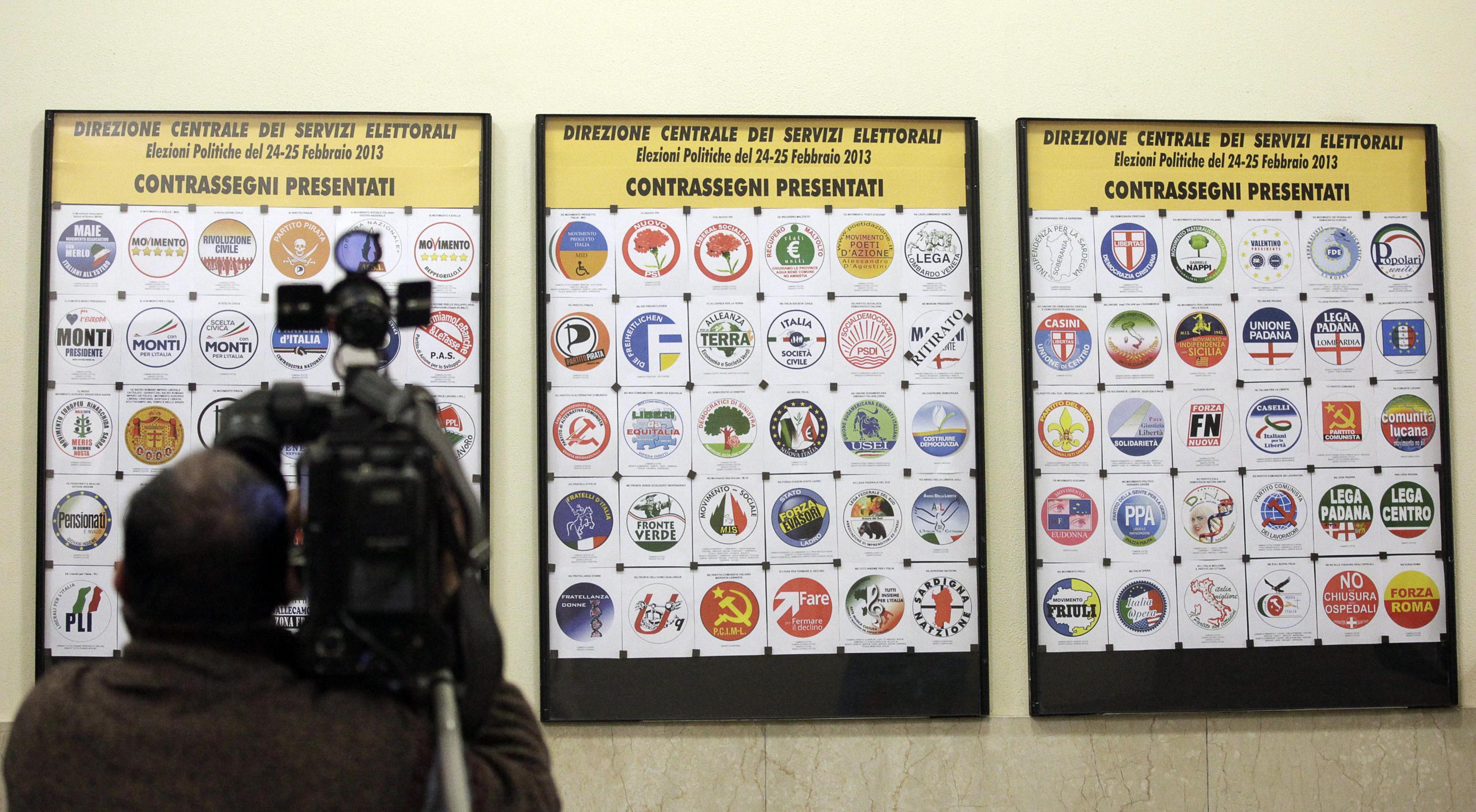 Elezioni Politiche 2013. Confronto dei programmi.  Pensioni, Crescita, Riforme.