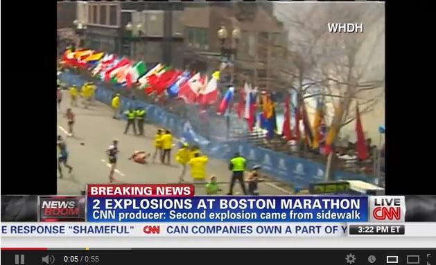 Boston, bombe al traguardo della maratona