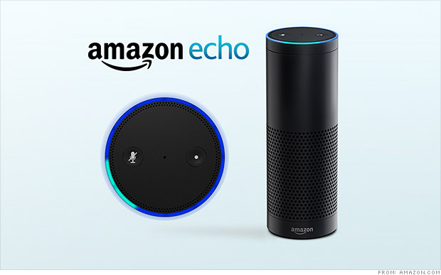Amazon introduce Echo, il dispositivo che porterà il proprio assistente digitale Alexa in tutte le case