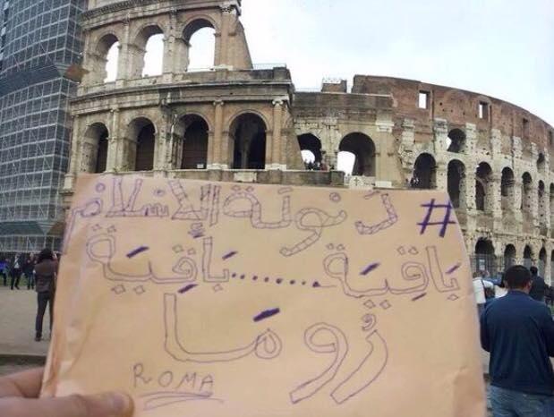 I messaggini dell'Isis e sullo sfondo le città italiane. Solo pura propaganda?