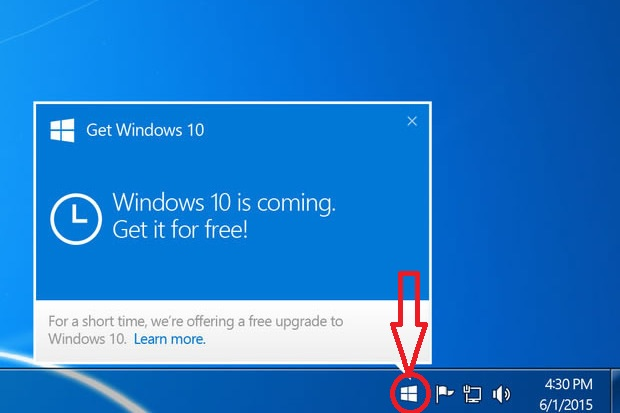 Microsoft Rilascia Windows 10. Parole chiave: Gratis, Menu Start, Cortana ed Edge