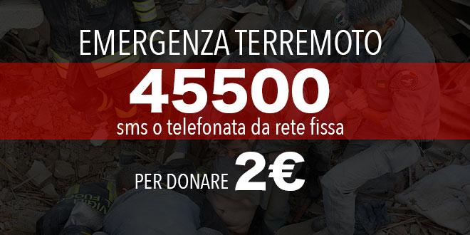 Sms Solidali. Basta polemiche strumentali! I soldi servono per la ricostruzione non per l'emergenza!