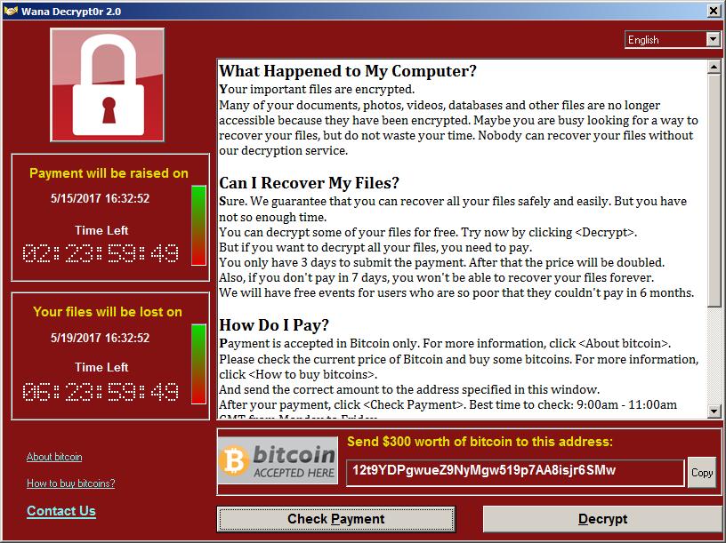 Un ransomware mette in ginocchio ospedali e organizzazioni di tutto il Mondo.  Ecco come evitare di essere infettati
