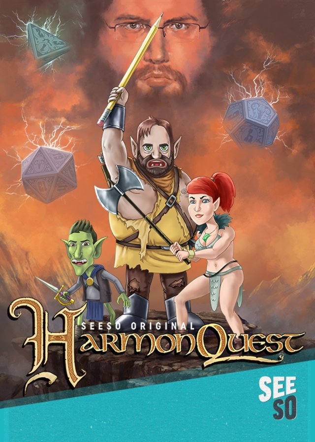 Harmonquest, quando Dungeons & Dragons arriva in TV