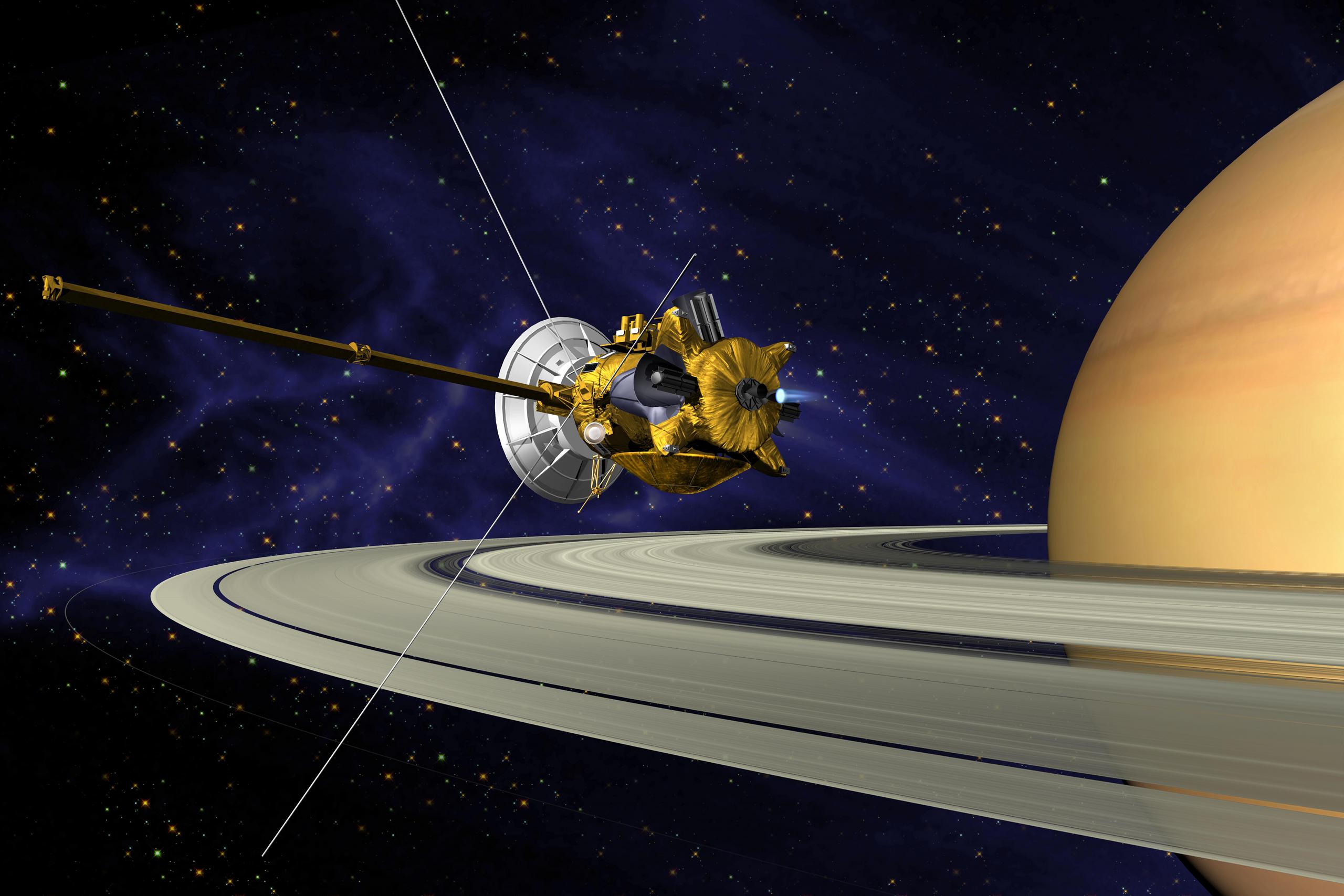 L'ultimo tuffo di Cassini su Saturno